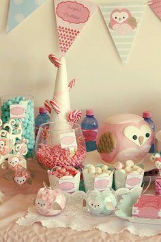 Festa com tema Coruja! - Just Real Moms - Blog para Mães