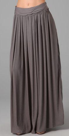 richard chai love - long skirt - $225 #shopbop