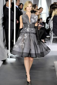 Christian Dior Spring 2012 Couture Fashion Show - Toni Garrn (Women)