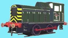 0-4-0 Diesel mechanical for O gauge