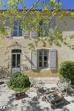 """08/07/2016 My dearest and sweetest Joyce I gift you this beautiful Mas in Provence! You can drink a glass of wine and play """"pétanque"""" in the afternoon! You have a garden full of lavender, this is the beast season to smell!!! Enjoy your new home ❤️ Barbara, Flan Elle ET prune"""
