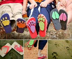 Fun Play Stamp Stomper Sandals!