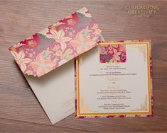 Wedding Invitation Cards Indian Wedding Cards Invites intended for Invitations C. - Wedding Invitation Cards Indian Wedding Cards Invites intended for Invitations Customized – Party - Marriage Invitation Card, Invitation Card Design, Wedding Invitation Design, Wedding Stationery, Custom Stationery, Invitation Envelopes, Wedding Planner, Wedding Card Design Indian, Indian Wedding Cards