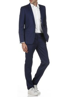 Costume slim Bleu by SPONTINI
