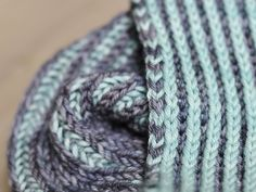 This scarf is a great first brioche project, as it showcases all the basic brioche stitches. If you're a brioche fiend and want a simple scarf that showcases the cushy stitch and your favorite worsted weight yarn, this is a pattern for you as well.