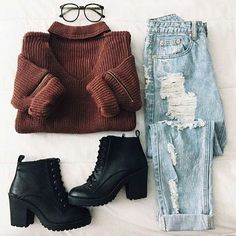 outfit, fashion, and clothes image #college_style_clothes