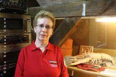 Frau Noormann vom #Seenotrettungsschuppen in #Norden. #WattWiki