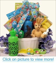 Easter basket great for boys ages 6 9 gift baskets for all easter basket great for boys ages 6 9 gift baskets for all occassions pinterest negle Image collections