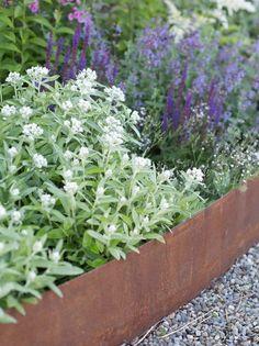 Att anlägga en mormorsrabatt - Blommor & Trädgård - UnderbaraClara Garden Show, Garden Art, Home And Garden, Outdoor Landscaping, Outdoor Gardens, Garden Stairs, Market Garden, Small Garden Design, Planter Beds