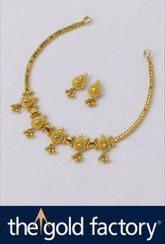 Where Sell Gold Jewelry Code: 2195421557 Kids Gold Jewellery, Gold Jewelry Simple, Simple Necklace, Gold Necklace, Short Necklace, Trendy Jewelry, Jewelry Sets, Gold Chain Design, Graffiti