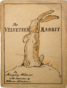 The Velveteen Rabbit is one of my favorite books of all time. It is a wonderful children's story, but I did not hear of it until adulthood~and it was wonderful to discover.