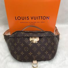 9cdf9ac82e12 Inspired By LV Bumbag Genuine Leather