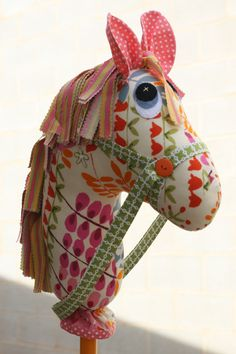 Paper+Stick+Horse+Pattern | Hobby horses.... ♪ Animal fair ♪
