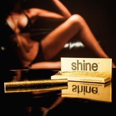 Shine papers - Made with real gold! Smoke with class with the Shine papers, real gold which makes golden ash, feel like royalty as you smoke! Weed Pipes, Gold Sheets, Glass Bongs, Rolled Paper, Take My Money, Elements Of Art, Cool Gifts, Rolls, Flute
