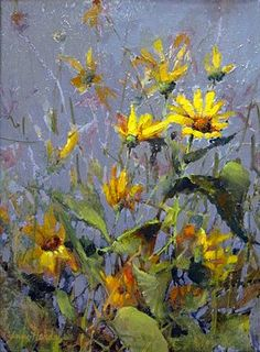 The Brigantine Gallery - A fine Arts Gallery - Ann Hardy Wild Flower Meadow, The Joy Of Painting, Sunflower Art, Arte Floral, Fine Art Gallery, Watercolor Flowers, Painting Inspiration, Art Pictures, Painting & Drawing