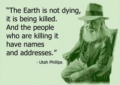 Think about it! If you are reading this, you care. I invite you to do your part. Little by little we'll help Mother Earth recover.