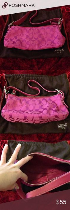 Authentic couch purse Great condition. Only used twice. Looks new. Comes with original dust bag. Coach Bags