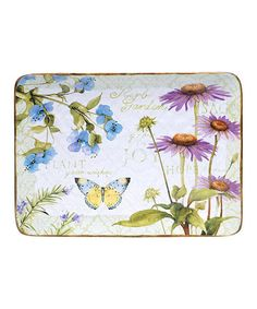 Look at this #zulilyfind! Herb Garden Rectangular Platter #zulilyfinds