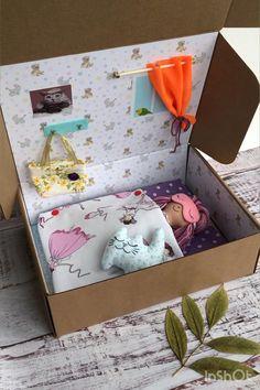Diy Rag Dolls, Diy Doll, Sewing Doll Clothes, Sewing Dolls, Doll Crafts, Baby Crafts, Diy For Kids, Gifts For Kids, Fabric Toys
