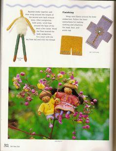 Felt Wee Folk: Enchanting Projects. Salley Mavor. 2003. аппликации, маленькие куколки из фетра. . Обсуждение на LiveInternet - Российский Сервис Онлайн-Дневников