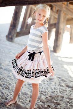 Russian Doll Ruffle Skirt