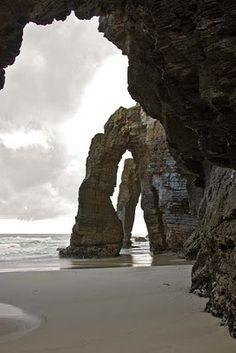 Praia das Catedrais, Galicia-Spain