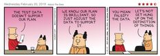 Dilbert - Adjust the Data