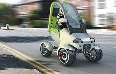 Eco Car: Electric Urban Quad Bike concept for green highways