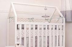 Inspirações de berços diferentes para quarto do bebê