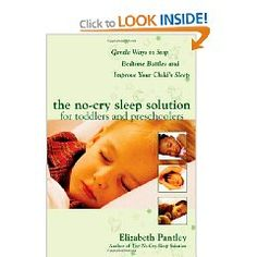 I HIGHLY recommend this book!  My 17 month old daughter was waking up about 7 times a night to nurse.  With a new baby on the way I decided it's time to get her in her own room and not waking up every 2 hours to nurse.  I do not believe in cry it out, so this book was a perfect solution.  After reading it and talking with my husband, we came up with a sleep plan for our daughter.  After one week of following our sleep plan, our daughter now sleeps 5-7 hours in her crib without waking up…