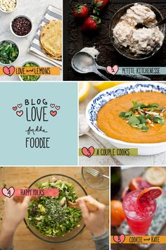 Food Blog Love  ||  The Fresh Exchange