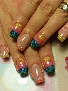 #Glitter #Nails