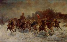 Adolf Baumgartner-Stoiloff, A Siberian Gold Convoy (Russia)