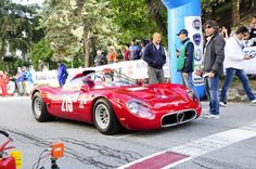 """Alfa Romeo 33/2 """"Periscopica"""", was the """"""""Best of Show"""""""" of the 33rd Cesana-Sestriere!"""