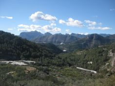 Alicante Mountains, Alicante region. An impressive variety of scenery, fauna and flora.  http://www.cyclefiesta.com/cycling-holidays/alicante.htm