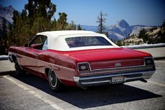 1969 Ford XL convertible and half-dome, via Flickr.