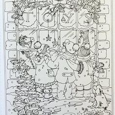 Creative Haven Winter Wonderland Coloring Book Intended For Christmas Cards Pages Printablewithin 25