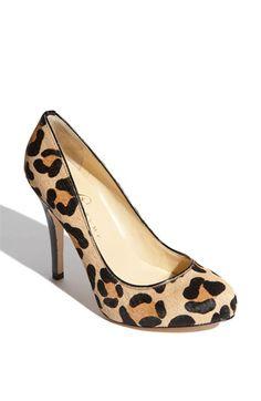 Gah, I want these now!! Ivanka Trump 'Pinkish' Platform Pump $134.95