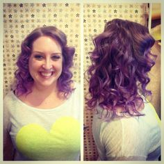 #purplehair is all the #rage this season! Come see one of our expert #colorists at #strangebeautyshow for all your #purplelock needs (773) 252 - 9522