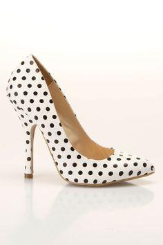 Shoe Republic Define Pointy Toe Pumps in White
