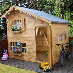 Avon 8' x 6' Jellytot Manor Two Storey Playhouse - Playhouses - Play Equipment - Outdoor Living
