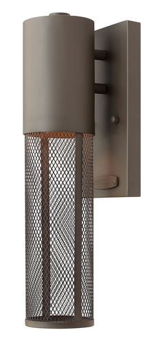 $109.00  Hinkley Lighting 2306KZ Aria Contemporary Outdoor Wall Light Sconce HK-2306-KZ