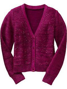 Girls Sparkle Cardis | Old Navy #alfordfamilychristmas2013
