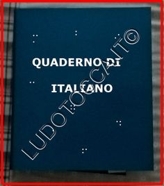 Quaderno operativo italiano - LudoTocca.it