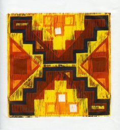 Inca Inspired Pattern by BoxlandPrints on Etsy, $30.00