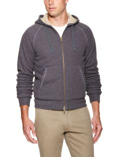 Zip-Front Hoodie by Vince on Park & Bond