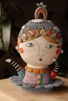 Natalya Sots' eccentric teapot