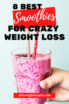 I absolutely love smoothies and they are my go-to weight loss drinks. They're packed with nutrients, super easy-to-make, and taste absolutely delicious. They also help me feel full longer and … Best Smoothie Recipes, Weight Loss Smoothie Recipes, Weight Loss Meals, Weight Loss Water, Good Smoothies, Weight Loss Drinks, Easy Weight Loss, Healthy Weight Loss, How To Lose Weight Fast