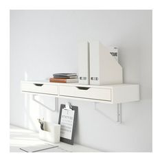 EKBY ALEX Hylly + laatikoita  - IKEA