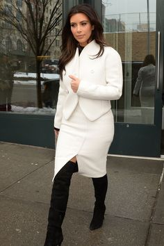 Kim Kardashian out in New York City's Meatpacking District